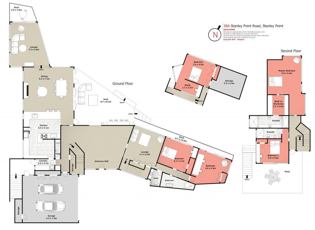 2D Standard Floor-Plan